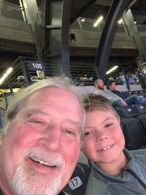 Darryl attended Georgia Tech Yellow Jackets vs. University of Arkansas Razorbacks- NCAA Men's Basketball on Nov 25th 2019 via VetTix