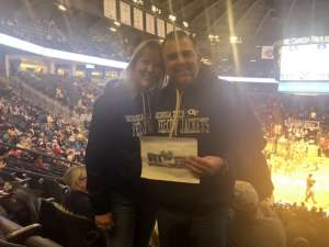 James attended Georgia Tech Yellow Jackets vs. University of Arkansas Razorbacks- NCAA Men's Basketball on Nov 25th 2019 via VetTix