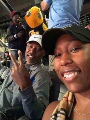 David attended Georgia Tech Yellow Jackets vs. University of Arkansas Razorbacks- NCAA Men's Basketball on Nov 25th 2019 via VetTix