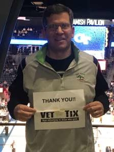 Mark attended Georgia Tech Yellow Jackets vs. University of Arkansas Razorbacks- NCAA Men's Basketball on Nov 25th 2019 via VetTix