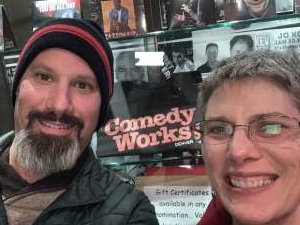 Anthony attended Comedy Works South - Tuesday 7:30PM - 21+ on Oct 22nd 2019 via VetTix