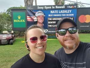 Daniel attended Sony Open in Hawaii - PGA Tour at Waialae Country Club - Valid Any One Day * See Notes on Jan 6th 2020 via VetTix