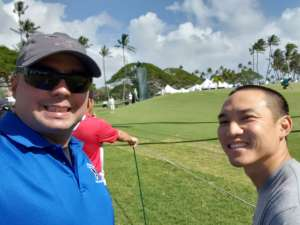 Peggy attended Sony Open in Hawaii - PGA Tour at Waialae Country Club - Valid Any One Day * See Notes on Jan 6th 2020 via VetTix