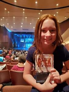 Katie attended We Will Rock You (touring) on Oct 13th 2019 via VetTix