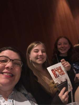 Todd attended We Will Rock You (touring) on Oct 13th 2019 via VetTix