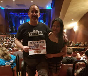 Michael attended We Will Rock You (touring) on Oct 13th 2019 via VetTix