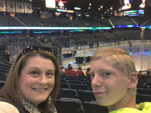 Jaime Chris attended Chicago Wolves vs. Milwaukee Admirals - AHL - Special Instructions * See Notes on Oct 20th 2019 via VetTix