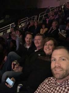 Nicholas attended Carrie Underwood: the Cry Pretty Tour 360 on Oct 16th 2019 via VetTix