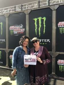 Esther attended PBR Xxvi World Finals 2019 - Las Vegas - November 10th Only on Nov 10th 2019 via VetTix