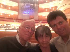 John attended Tchaikovskys - Pathetique - Presented by the Pacific Symphony on Oct 17th 2019 via VetTix
