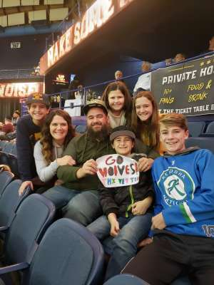 Joshua attended Chicago Wolves vs. Milwaukee Admirals - AHL - Special Instructions * See Notes on Dec 29th 2019 via VetTix
