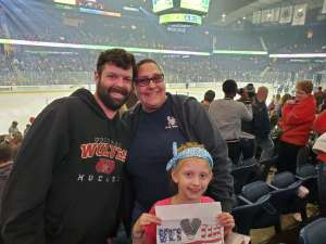 Sonya attended Chicago Wolves vs. Milwaukee Admirals - AHL - Special Instructions * See Notes on Dec 29th 2019 via VetTix