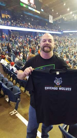 PAUL attended Chicago Wolves vs. Milwaukee Admirals - AHL - Special Instructions * See Notes on Dec 29th 2019 via VetTix