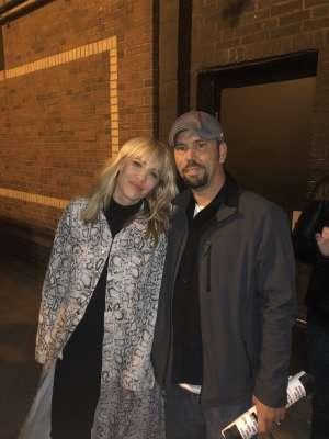 Michael attended Natasha Bedingfield on Oct 21st 2019 via VetTix