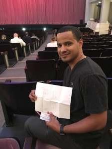 Ivan attended Texas Ballet Theater Performs the Sleeping Beauty - Sunday on Oct 20th 2019 via VetTix