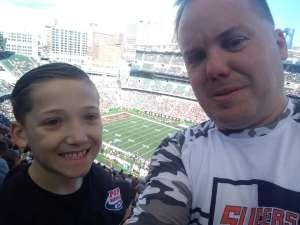 Brad attended Cincinnati Bengals vs. Jacksonville Jaguars - NFL on Oct 20th 2019 via VetTix