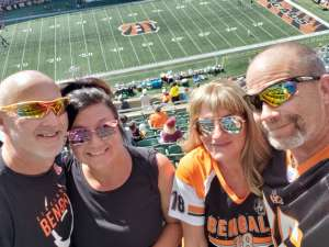 Mark attended Cincinnati Bengals vs. Jacksonville Jaguars - NFL on Oct 20th 2019 via VetTix