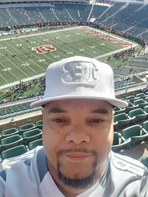 Edward attended Cincinnati Bengals vs. Jacksonville Jaguars - NFL on Oct 20th 2019 via VetTix