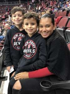 Oshanda attended New Jersey Devils vs. Vancouver Canucks - NHL on Oct 19th 2019 via VetTix