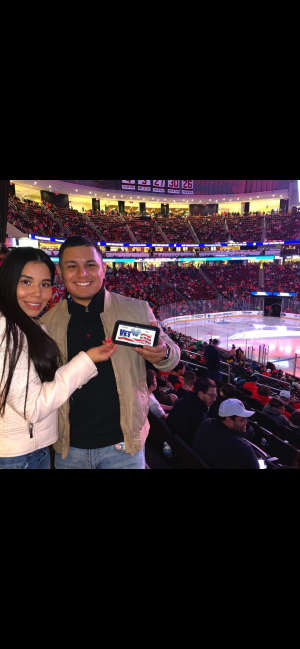 victor attended New Jersey Devils vs. Vancouver Canucks - NHL on Oct 19th 2019 via VetTix