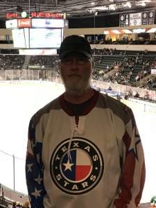 Kennith attended Texas Stars vs Grand Rapids Griffins - AHL on Oct 19th 2019 via VetTix