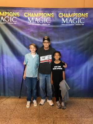 Ronald attended Champions of Magic on Oct 20th 2019 via VetTix