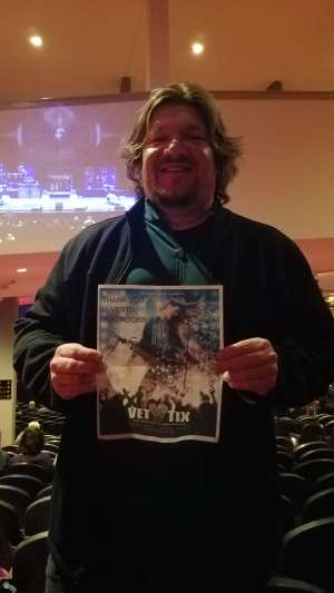 Michael attended Toto 40 Trips Around the Sun on Oct 20th 2019 via VetTix
