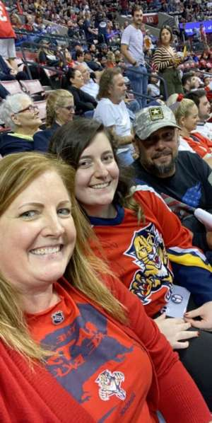 G attended Florida Panthers vs. Colorado Avalanche - NHL on Oct 18th 2019 via VetTix