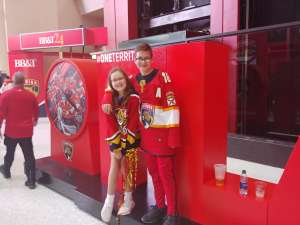 Andres attended Florida Panthers vs. Pittsburgh Penguins - NHL on Oct 22nd 2019 via VetTix