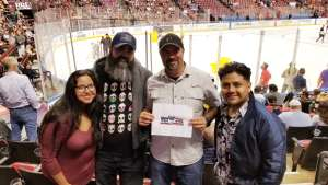 Rafael attended Florida Panthers vs. Pittsburgh Penguins - NHL on Oct 22nd 2019 via VetTix