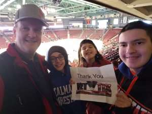 Click To Read More Feedback from Utah Grizzlies vs. Orlando Solar Bears - ECHL **angels Hands Night**