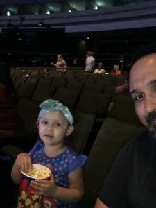 Jessica attended Nick Jr. Live! Move to the Music on Oct 19th 2019 via VetTix