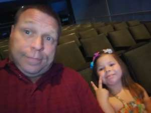 Mark attended Nick Jr. Live! Move to the Music on Oct 19th 2019 via VetTix