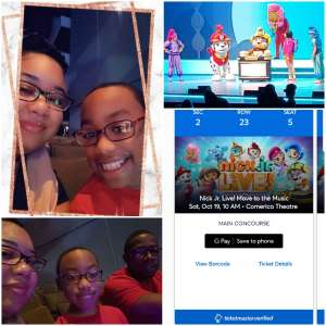Lashonda attended Nick Jr. Live! Move to the Music on Oct 19th 2019 via VetTix
