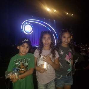 Lacy attended Nick Jr. Live! Move to the Music on Oct 19th 2019 via VetTix
