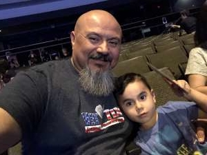 Chris attended Nick Jr. Live! Move to the Music on Oct 19th 2019 via VetTix