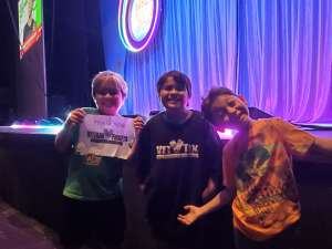 Lorenzo attended Nick Jr. Live! Move to the Music on Oct 19th 2019 via VetTix
