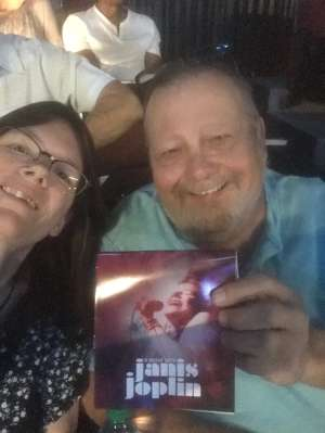 Paul attended A Night With Janis Joplin - Celebrity Theater on Oct 19th 2019 via VetTix