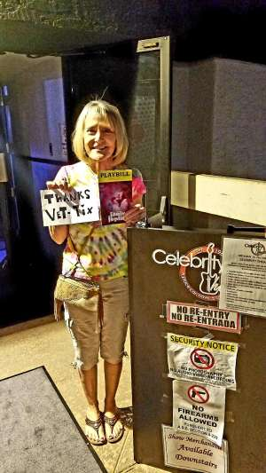 Ruby attended A Night With Janis Joplin - Celebrity Theater on Oct 19th 2019 via VetTix