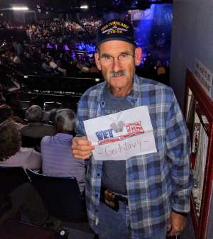 Christopher attended A Night With Janis Joplin - Celebrity Theater on Oct 19th 2019 via VetTix