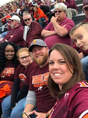 Brian attended Virginia Tech vs. North Carolina - NCAA Football on Oct 19th 2019 via VetTix