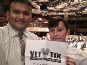 Jeremiah attended Mozart Symphony No. 40 - Presented by the Colorado Symphony on Nov 10th 2019 via VetTix