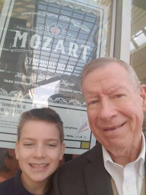 Robert attended Mozart Symphony No. 40 - Presented by the Colorado Symphony on Nov 10th 2019 via VetTix