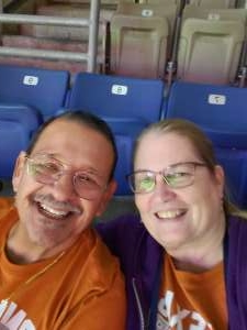 Catherine attended 2019 Valero Alamo Bowl: Utah Utes vs. Texas Longhorns on Dec 31st 2019 via VetTix