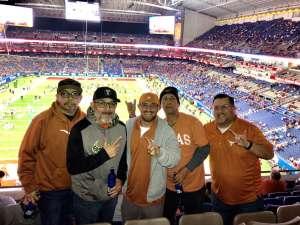 Daniel attended 2019 Valero Alamo Bowl: Utah Utes vs. Texas Longhorns on Dec 31st 2019 via VetTix