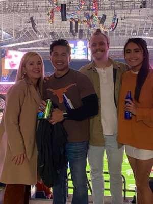 Donna attended 2019 Valero Alamo Bowl: Utah Utes vs. Texas Longhorns on Dec 31st 2019 via VetTix
