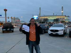 Joshua attended 2019 Valero Alamo Bowl: Utah Utes vs. Texas Longhorns on Dec 31st 2019 via VetTix