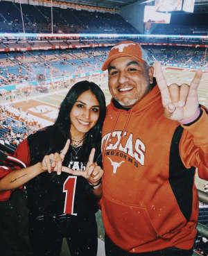 CT attended 2019 Valero Alamo Bowl: Utah Utes vs. Texas Longhorns on Dec 31st 2019 via VetTix