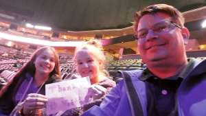 Aaron attended Sara Bareilles: Amidst the Chaos Tour 2019 on Oct 18th 2019 via VetTix