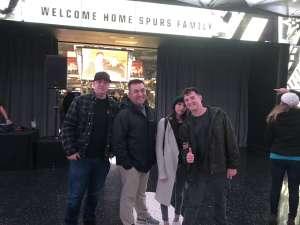 Andrew attended San Antonio Spurs vs. Oklahoma City Thunder - NBA on Nov 7th 2019 via VetTix